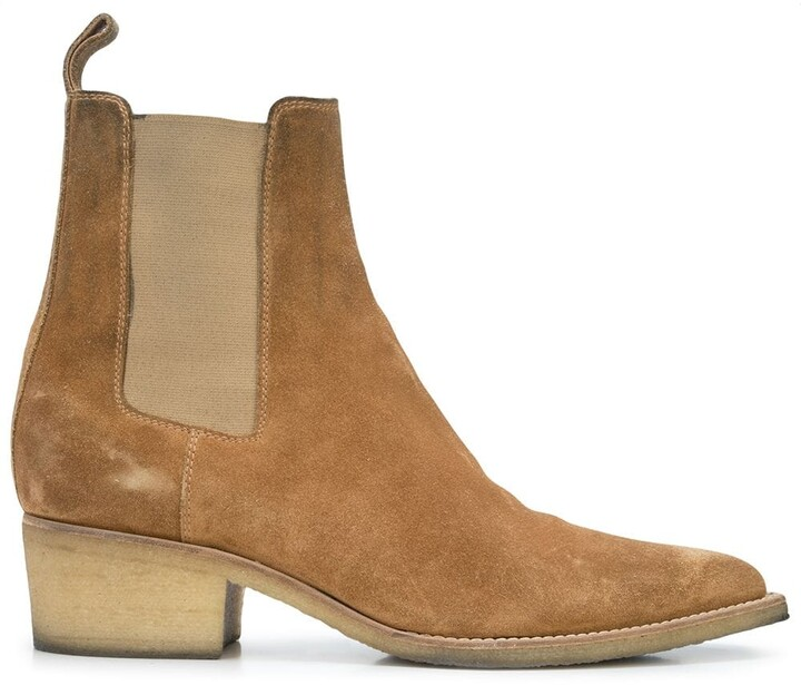 Amiri Crepe Chelsea boots