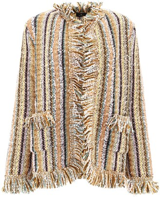 Etro Striped Knit Jacket