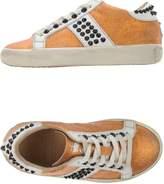 Leather Crown Low-tops & sneakers - Item 44917697