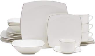 Mikasa Couture Platinum 20-Pc. Dinnerware Set, Service for 4