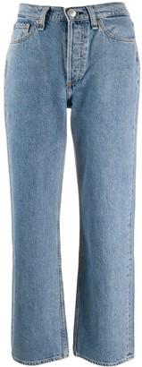 Rag & Bone Ruth high-rise straight jeans