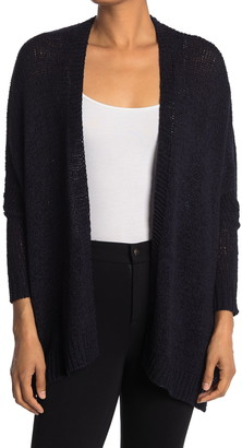 Catherine Malandrino Long Sleeve Open Front Cardigan