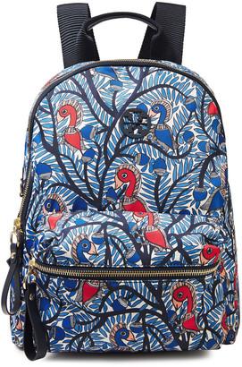 Tory Burch Printed Shell Backpack