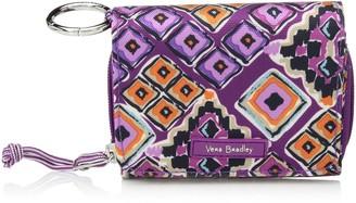 Vera Bradley Women's Lighten Up Card Case Wallet with RFID Protection