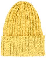 Kijima Takayuki - ribbed knit beanie - men - Hemp/Nylon/Polyurethane - One Size