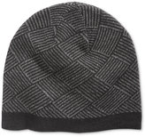 Ryan Seacrest Distinction Men's Diamond Knit Beanie, Only at Macy's