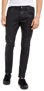G Star Men's Elwood Zip-Knee Skinny Jeans, Created for Macy's