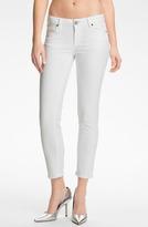 Paige 'Kylie' Crop Skinny Jeans (Optic White)