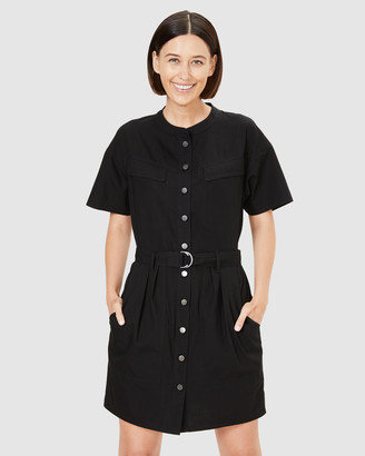 French Connection Women's Dresses - Belted Utility Dress - Size One Size, 8 at The Iconic