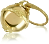 Torrini Ball - 18K Yellow Gold Diamond Charm Ring