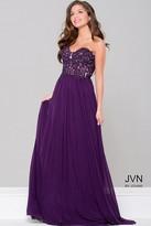 Jovani Sweetheart Neck Mesh Dress JVN41461