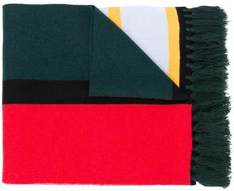 Burberry Oversized Intarsia-Knit Scarf