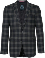 GUILD PRIME checkered blazer