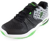Prince Warrior Men's Tennis Shoes Grey/Black/Green (8.5)