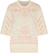 Stella McCartney Matelass&eacute cotton sweatshirt