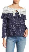 Endless Rose Tiered Off-the-Shoulder Blouse
