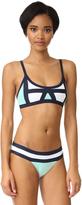 Pilyq Colorblock Bikini Top