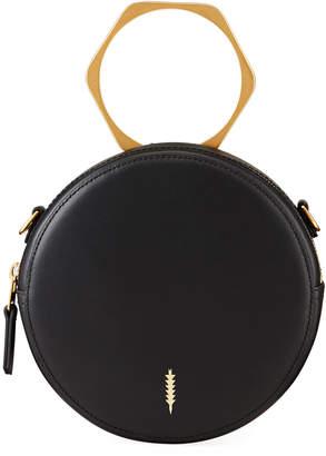 THACKER Leigh Round Ring Handle Crossbody Bag