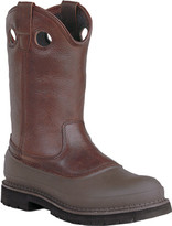 """Georgia Boot Men's G56 12"""" Safety Toe Pull On Mud Dog Comfort Core"""