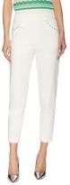 M Missoni Cotton High-Rise Studded Pant