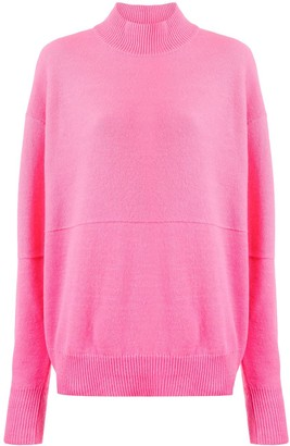 Erika Cavallini High Neck Knit Jumper