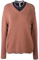 No.21 v neck jumper
