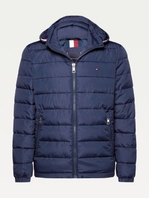 Tommy Hilfiger Big & Tall Padded Hooded Jacket