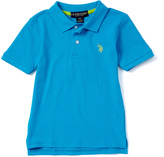 U.S. Polo Assn. Flip Flop Blue Horse Emblem Polo - Toddler & Boys