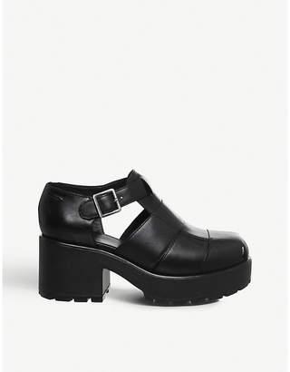 Vagabond Dioon leather platform sandals