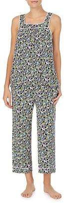 Kate Spade Floral Tank Top Crop Pant Pajama Set