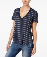 Volcom Juniors' Striped V-Neck T-Shirt