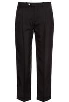 Maison Margiela Straight-leg silk trousers