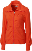 Cutter & Buck Orange Vancouver Full-Zip Jacket - Plus Too