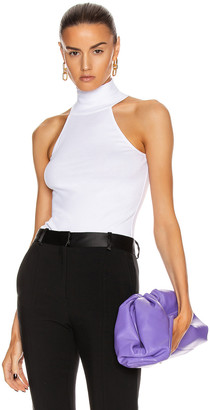 Rosetta Getty Halter T Shirt Top in White | FWRD