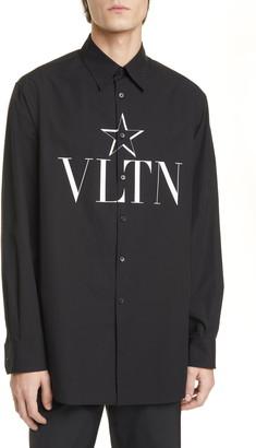 Valentino VLTNSTAR Button-Up Shirt