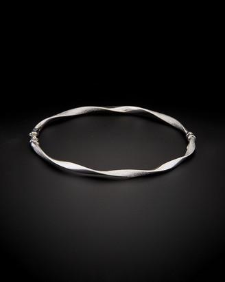 Italian Gold Fremada 14K Twist Bangle Bracelet
