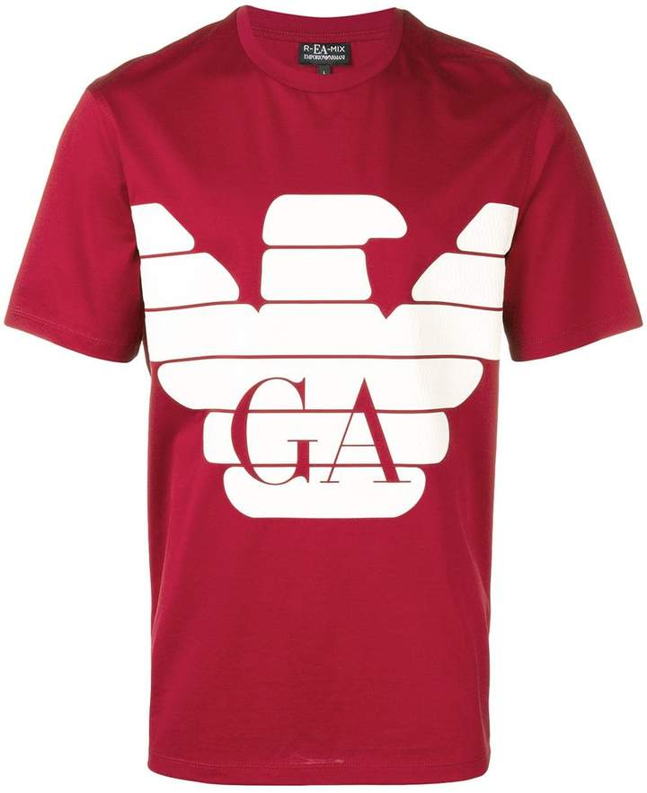 ca24938258 logo print T-shirt