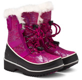 Sorel Pink and Black Tivoli II Boots