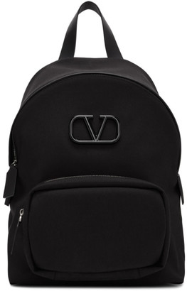 Valentino Black Garavani VLogo Backpack
