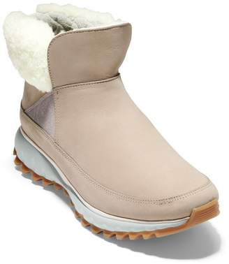 Cole Haan ZeroGrand Genuine Shearling Explore All Terrain Waterproof Bootie