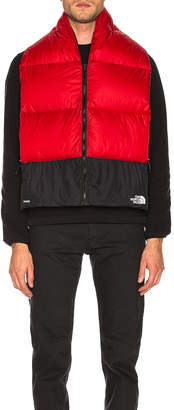 The North Face Nuptse Scarf in TNF Red | FWRD