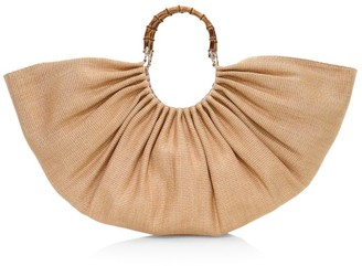 Cult Gaia Large Banu Bamboo Top Handle Bag