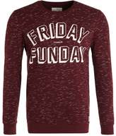 Tom Tailor Denim Sweatshirt Dark Topaz/red Melange