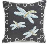 Liora Manné Frontporch Dragonfly II Indoor Outdoor Throw Pillow