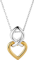 Links of London Infinite love 18ct gold vermeil and sterling silver pendant necklace