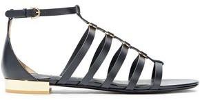 Salvatore Ferragamo Acri Ring-embellished Leather Sandals
