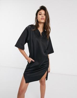 G Star G-Star utility cocaux boyfriend sweat dress in black
