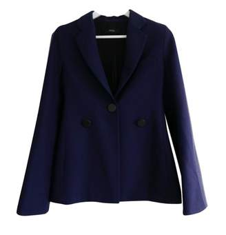 Ellery Navy Wool Jacket for Women