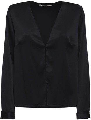 Ciao Lucia Ludavica Silk Satin Shirt