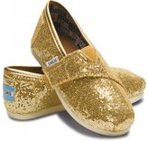 Toms Gold tiny glitters